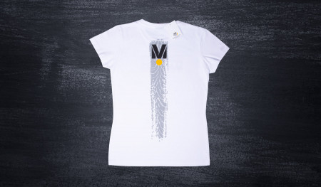DMEC women's T-shirt white