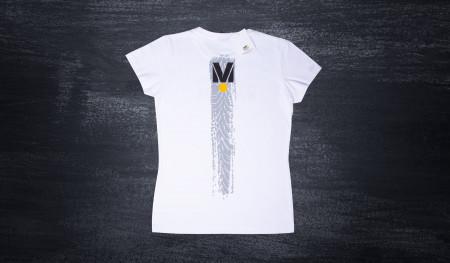 Koszulka damska DMEC biała