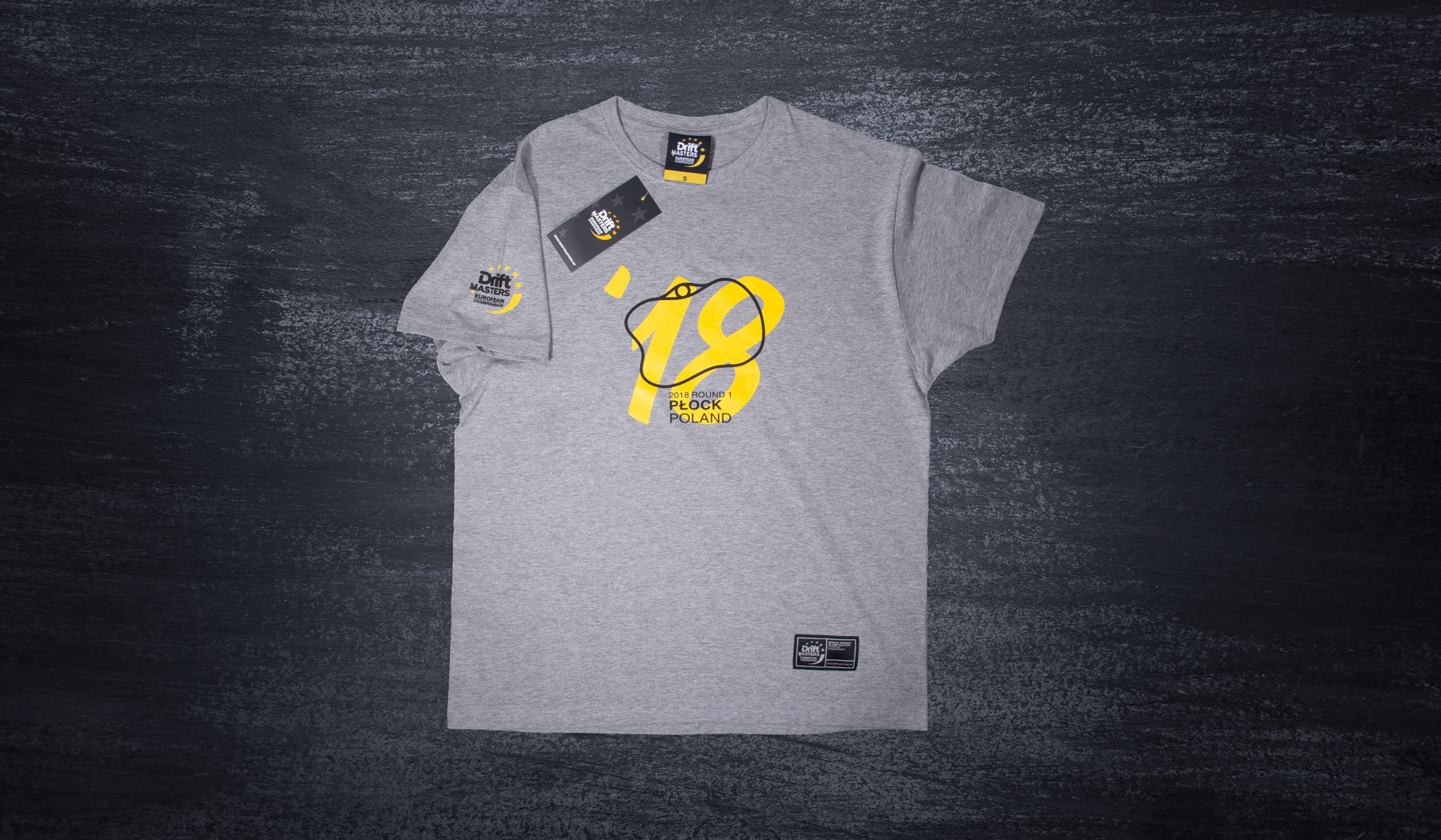Plock Stadium T-shirt gray