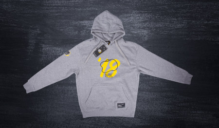 Poland Plock Stadium Hooded sweatshirt grey