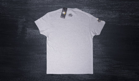 Koszulka tory wyścigowe szara