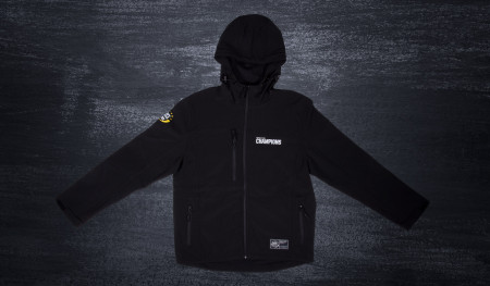 "Czarny Softshell ""House of Champions"""