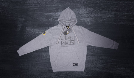 Tracks 2018 Hooded sweatshirt grey