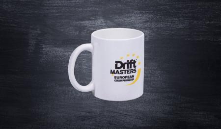 DMEC porcelain mug white
