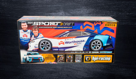 Worthouse Drift Car Nissan S-15 HPI