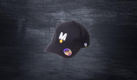 BigM baseball cap black
