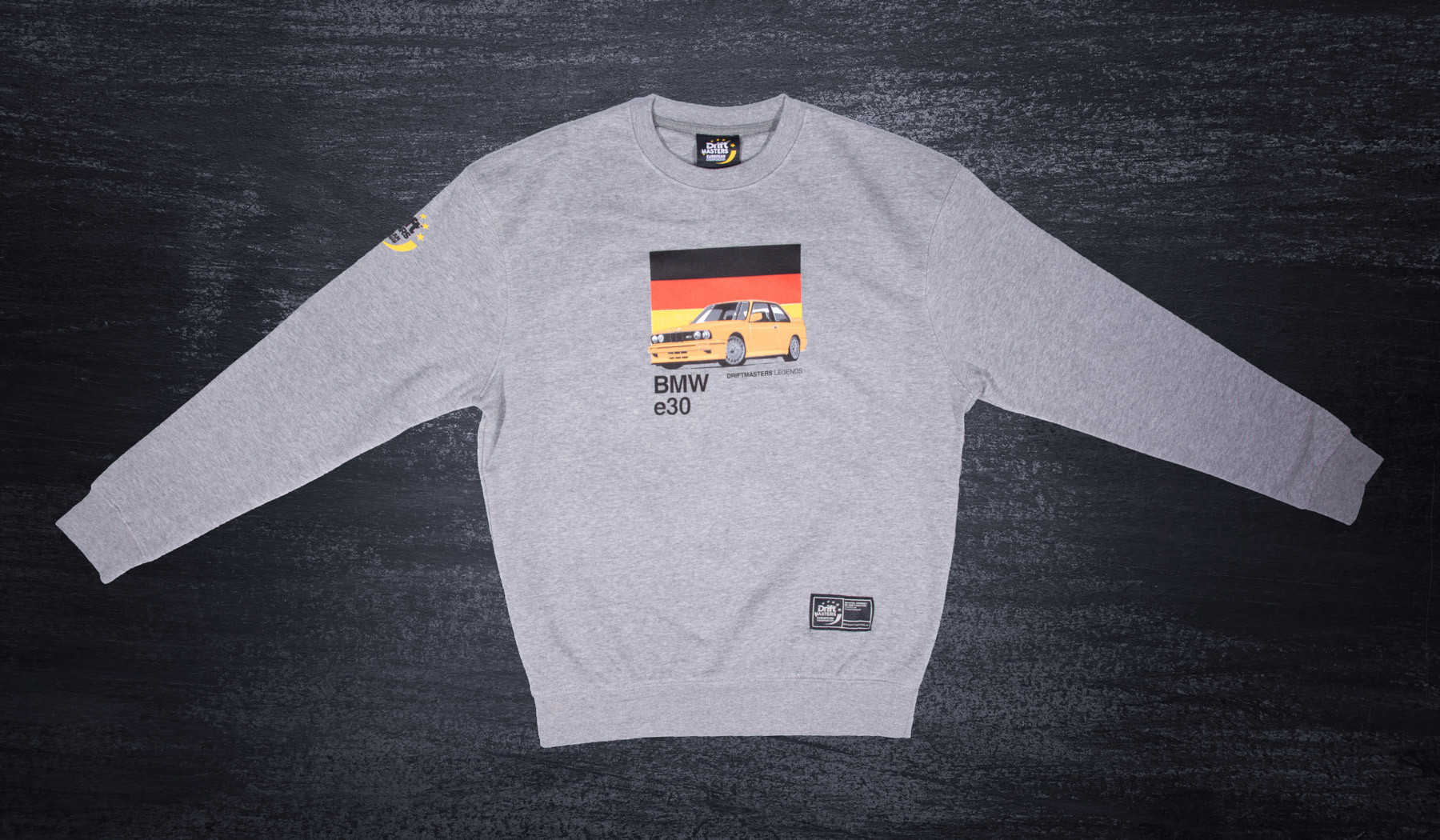 BMW E30 sweatshirt grey