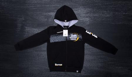 Bluza z kapturem DMEC czarno/szara
